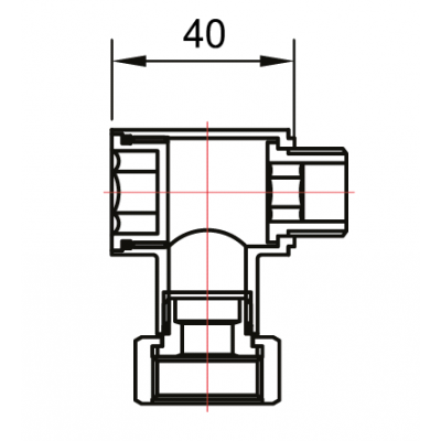 """Соединительные Американки угловые квадратные штуцер-гайка 1/2""""x3/4"""" для полотенцесушителя"""