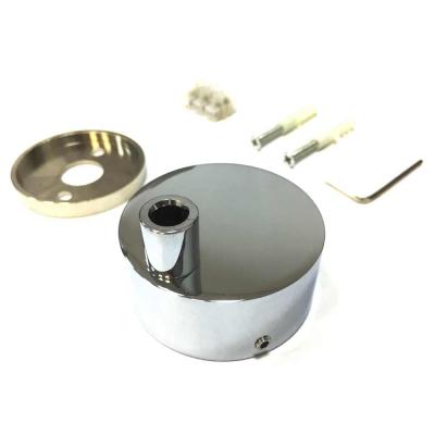 Коробка для скрытой электропроводки полотенцесушителя